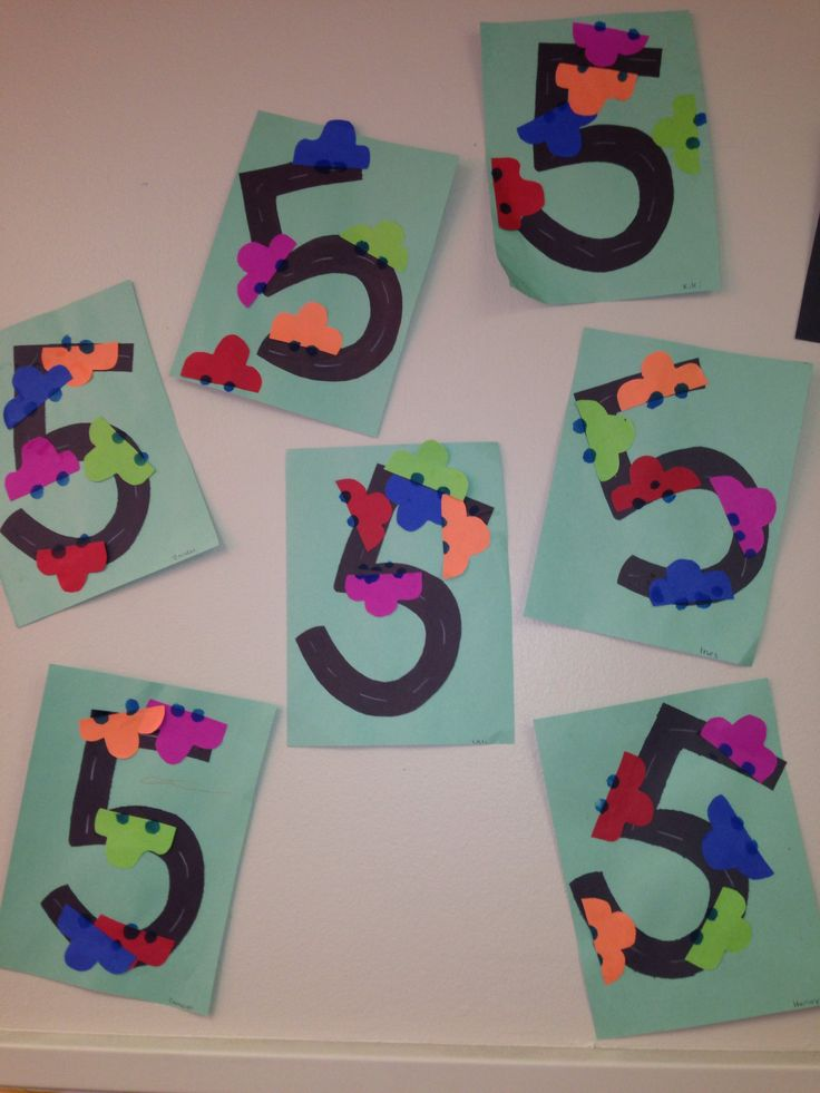 Similiar Number 5 Crafts For Preschoolers Keywords