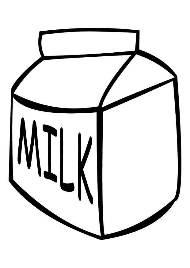 Dairy Products Coloring Pages | Crafts and Worksheets for ...